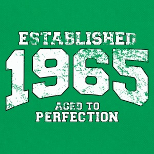 Geburtstag - established 1965 - aged to perfection - Retro Tasche