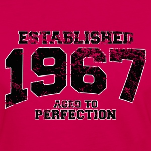 established 1967 - aged to perfection(fr) Tee shirts - T-shirt manches longues Premium Femme
