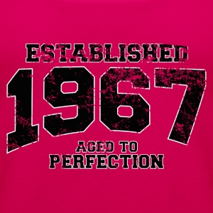 established 1967 - aged to perfection(fr) Tee shirts - Débardeur Premium Femme