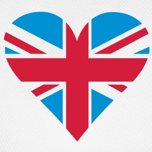 UK Heart London T-shirts - Baseballkasket