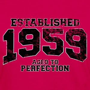 established 1959 - aged to perfection(fr) Tee shirts - T-shirt manches longues Premium Femme