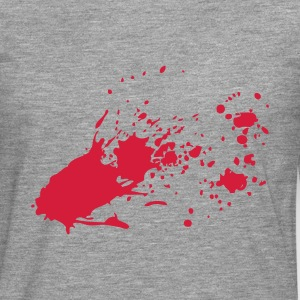 Blood Spatter - Men's Premium Longsleeve Shirt