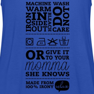 Laundry label momma T-shirts - Vrouwen tank top van Bella