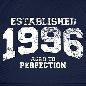 established 1996 - aged to perfection (uk) T-Shirts - Baseball Cap