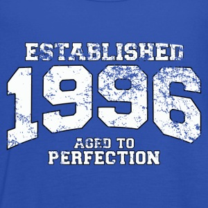 established 1996 - aged to perfection (uk) T-Shirts - Women's Tank Top by Bella