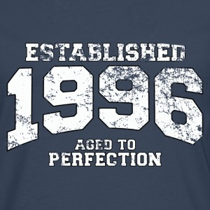 established 1996 - aged to perfection (uk) T-Shirts - Men's Premium Longsleeve Shirt