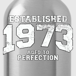 established 1973 - aged to perfection (uk) T-Shirts - Water Bottle