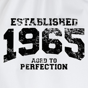 established 1965 - aged to perfection(nl) T-shirts - Gymtas