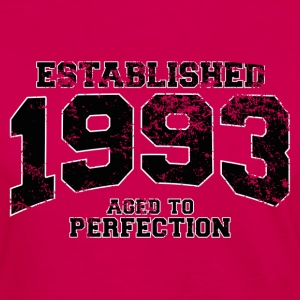 established 1993 - aged to perfection(fr) Tee shirts - T-shirt manches longues Premium Femme