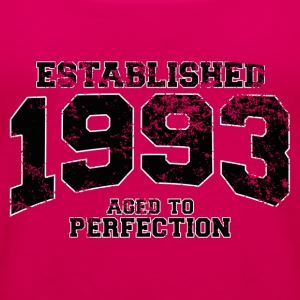 established 1993 - aged to perfection(fr) Tee shirts - Débardeur Premium Femme