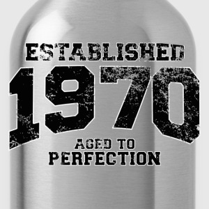 established 1970 - aged to perfection(fr) Tee shirts - Gourde