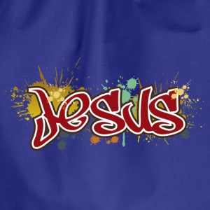 Jesus T-shirt - Drawstring Bag