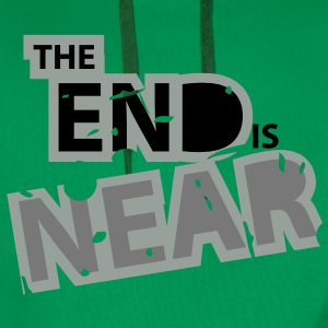 The End is Near - Männer Premium Hoodie