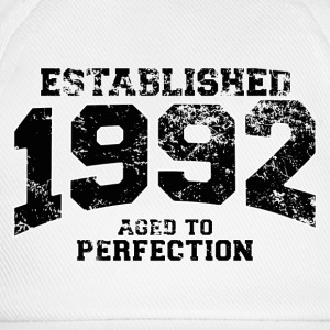 established 1992 - aged to perfection(fr) Tee shirts - Casquette classique