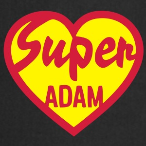 adam super coeur heart love Tee shirts - Tablier de cuisine