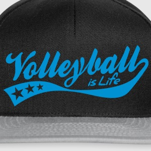volleyball is life - retro T-shirts - Snapback cap