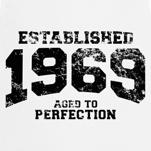 Geburtstag - established 1969 - aged to perfection - Kochschürze