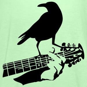 crow on the guitar - Top da donna della marca Bella