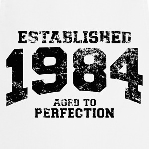 Geburtstag - established 1984 - aged to perfection - Kochschürze