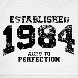 Geburtstag - established 1984 - aged to perfection - Baseballkappe