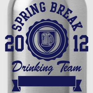 Spring Break Drinking Team 2012 T-Shirts - Trinkflasche