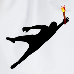 Goalkeeper with pyrotechnics - Drawstring Bag