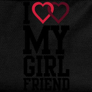 I love my Girlfriend T-Shirts - Kinder Rucksack
