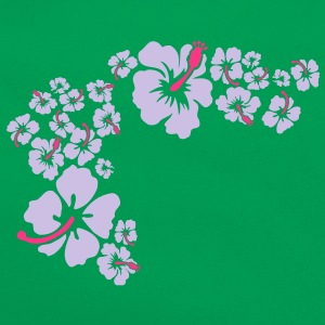 hawaii flower T-Shirts - Retro Bag