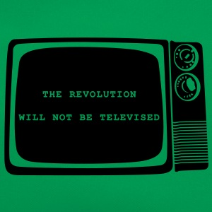 The revolution will not be televised - Retro Bag