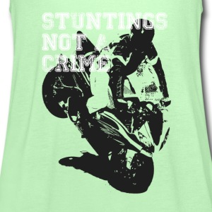 Stuntings Not a Crime - Women's Tank Top by Bella
