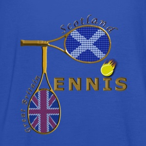 great britain scotland tennis T-Shirts - Women's Tank Top by Bella
