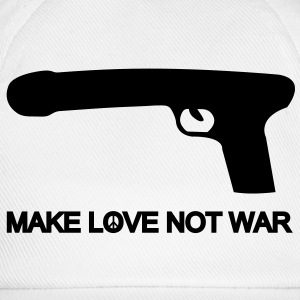 make love not war T-Shirts - Baseball Cap