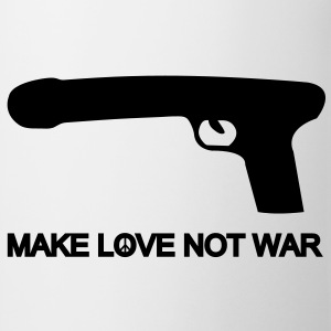 make love not war T-shirts - Mok