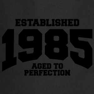 aged to perfection established 1985 (fr) Tee shirts - Tablier de cuisine