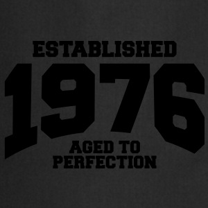 aged to perfection Geburtstag - established 1976 ( - Kochschürze