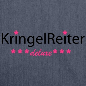 Kringel-Reiter-deluxe - Schultertasche aus Recycling-Material