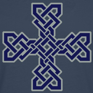 Celtic Cross T-Shirts - Men's Premium Longsleeve Shirt