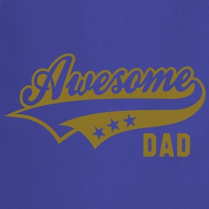 Awesome DAD T-Shirt WB - Cooking Apron