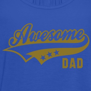 Awesome DAD T-Shirt WB - Women's Tank Top by Bella