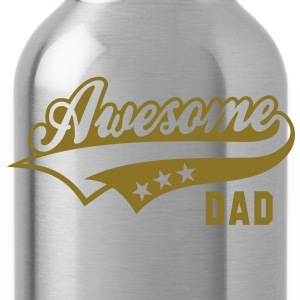 Awesome DAD T-Shirt WB - Trinkflasche