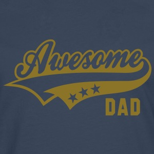 Awesome DAD T-Shirt WB - Men's Premium Longsleeve Shirt
