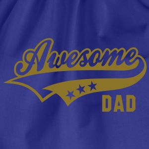 Awesome DAD T-Shirt NS - Sacca sportiva