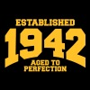 aged to perfection established 1942 (sv) T-shirts - Premium-T-shirt dam