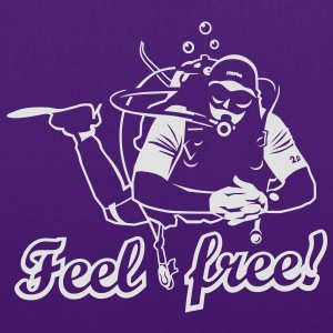 Feel free T-Shirts - Stoffbeutel