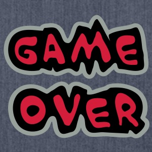 Game Over T-Shirts - Shoulder Bag made from recycled material