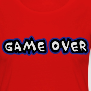 Game Over Tee shirts - T-shirt manches longues Premium Femme