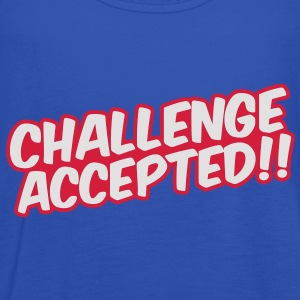 Challenge Accepted T-shirts - Dame tanktop fra Bella