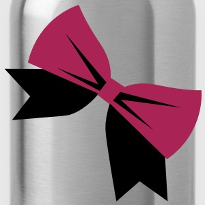 pretty BOW good for Birthday Shirts - Water Bottle
