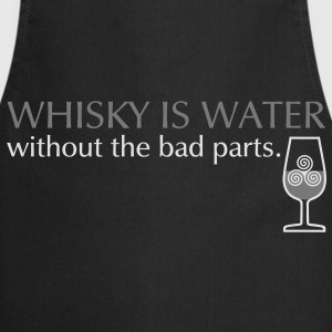 Whisky is water, Girlie - Kochschürze