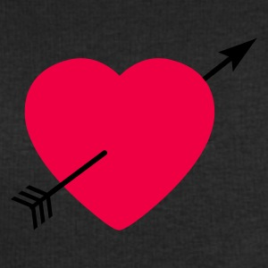 Heart round with arrow T-shirt - Felpa da uomo di Stanley & Stella